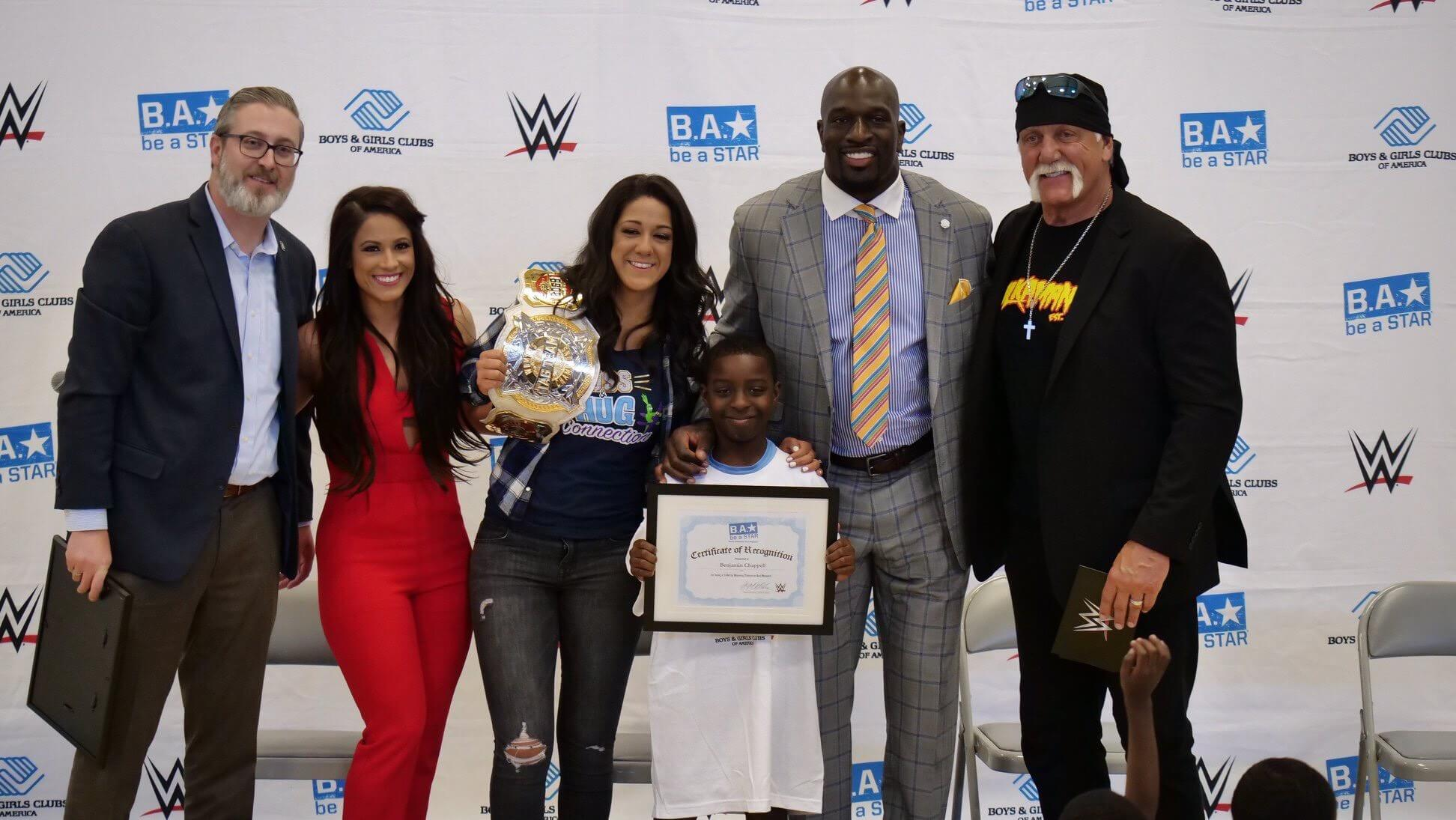 WWE Be A Star Rally at Garcia Salesian